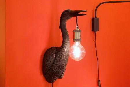 Wandleuchte Black Crane