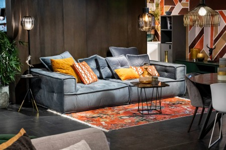Sofa Marrakesh Paris Grey